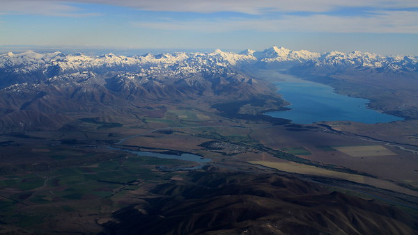 Lake Pukaki and Mt Cook views
