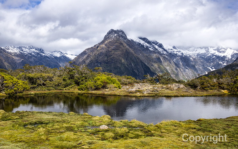 Reflections on the Routeburn