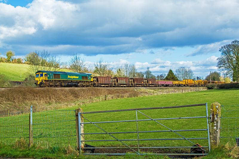 66536 near Bruton - 18 February, 2015