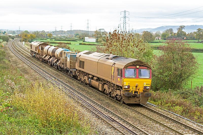 66061 at Berkley Marsh with RHTT - 12 Nov 2015