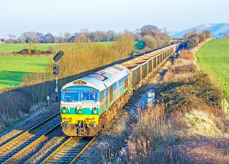 59005 at Fairwood - 20 January 2016