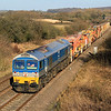 59002 with 6W35 again, taken a few seconds after the previous shot.  25/02/12.