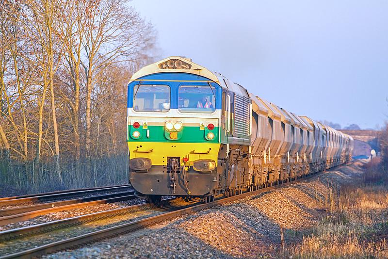 59002 at Rudge - 20 January 2016