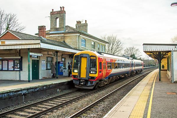 158883 at Romsey - 30 January 2016