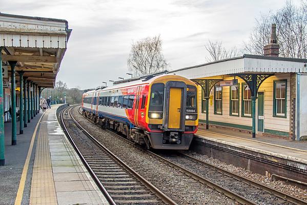 158884 at Romsey - 30 January 2016