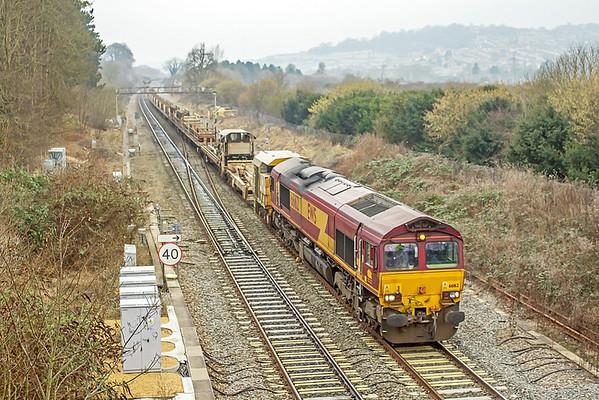 66162 at Bathampton