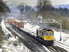 66523 at Bathampton with 4O24, 11:00 Bristol to Grain Thamesport containers.