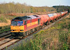 Another shot of 60085 at Farleaze with 6B33, taken a second or two after the previous one, on 7 November, 2009.