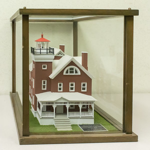 South Bass Island Lightstation - 1896, Model built 1996