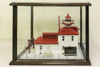 Ashtabula Harbor Light - 1836, Model Built 2001