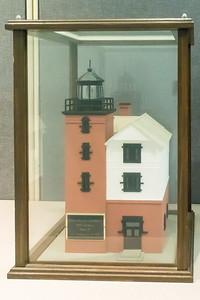 Round Island Lighthouse - 1895, Model built 1997