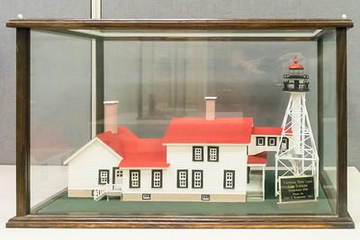 Whitefish Point Light, Lake Superior - 1848, Model built 2001