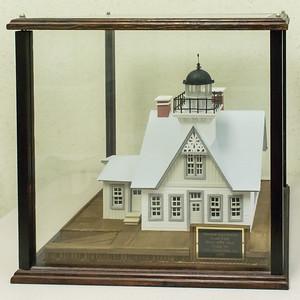 Monroe Lighthouse - 1854, Model built 1999
