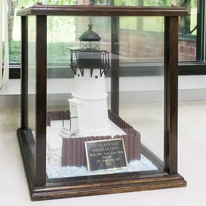 Cleveland East Pierhead Light - 1911, Model built 2000