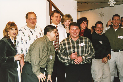 Holiday Party at the Robertson's Home, December 1997