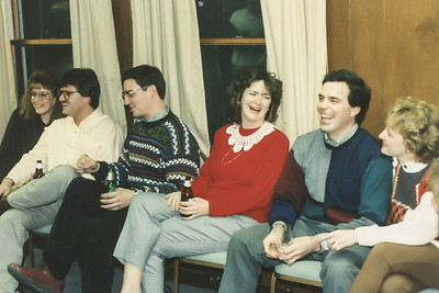 Holiday Party at Pine Lake Trout Club, December 1991