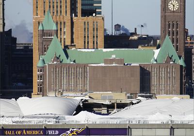 2010-12-12 Metrodome Collapse