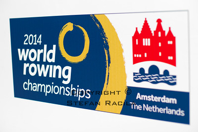 2014 World Rowing Championships, Amsterdam, the Netherlands.