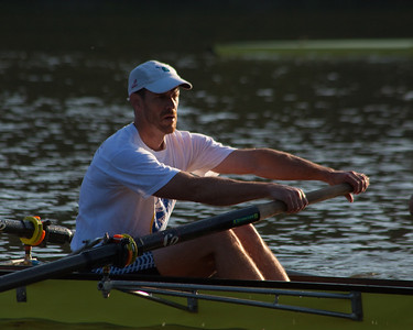 Greenwood with good hand on the oar.