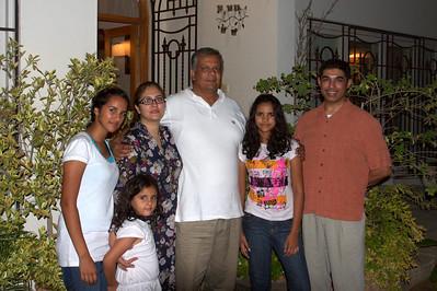 With Aisha's Family