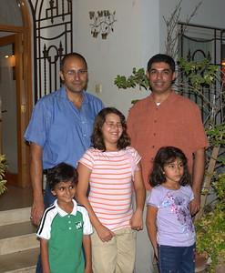 Arif's family.