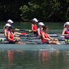 Leanders Womens Lightweight Quad on their way to the semis ... they ended up going to the finals
