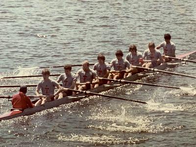 MIT Varsity Lightweight 8 at Eastern Sprints 1984