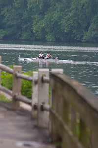 After the race the girls slowly made their way back to the dock.