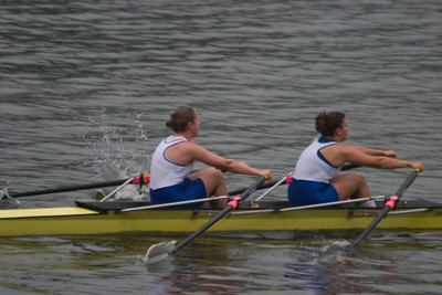 The Fairmount Girls double who won their heat but then came in 6th in the final.