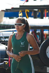 Kiran ready for her race.