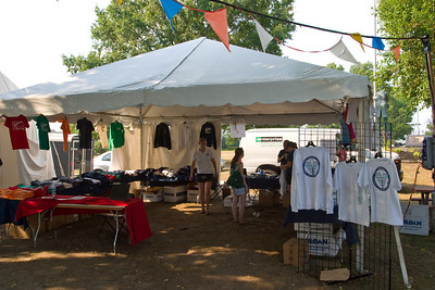 The US Rowing tent.