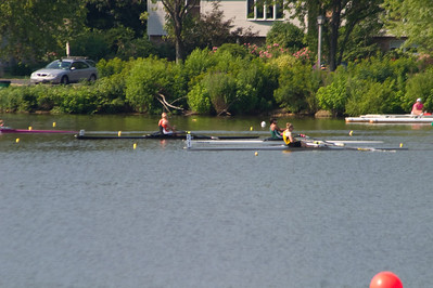 A few strokes int o the start.
