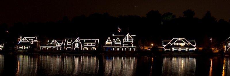 Another Boathouse Row picture.  Tariq took this one.