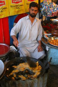 Zaheer introduced me to the best pakoras in Pakistan.  One evening Col. Imran, the Army coach, regaled us with stories over pakoras, which made for a fine evening.