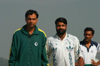 """""""Coach"""", Farasat and Shajjar Abbas"""