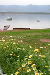 Spring at Rawal Lake
