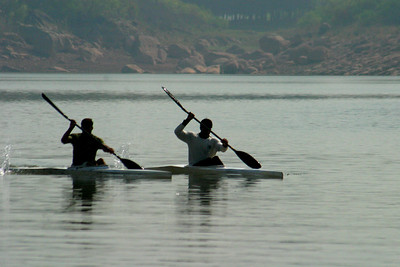 Kayakers from Navy.