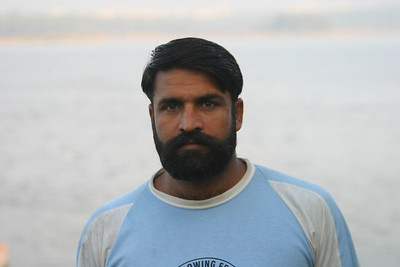 Muhammad Farooq, a very lively heavyweight.  Still has to loosen up his body and get a long stroke.  Has a good attitude.