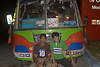 Zohaib and Hamza in front of a random bus parked at the gas station.  Hamza, the son of Rizwan, the Rowing Federation Secretary General came along with us.  His enthusiastic spirit was good to see.   He was however, out of shape like me, something we found out the following day.