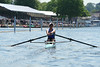 Mathilde racing at Henley Royal Regatta in the semi-finals of the Princess Royal Challenge Cup against Marit van Eupen of the Netherlands.