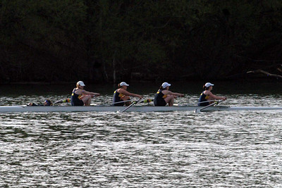 one of the St. Mary's mens crew in action