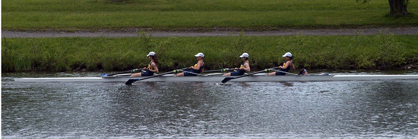 Carolyn's crew heading off to the finals start gate
