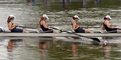 Marys Senior Heavyweight 4+ finishes their heat (there were 6 of them) with a 2nd but fails to qualify for the final because of their 7th fastest time