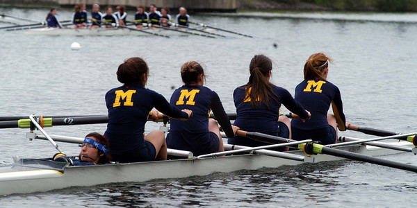 St. Mary's Senior 4 heading to their start