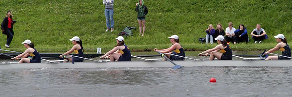 Mary's Lightweight 8 finishes 2nd in heat but missed qualifying for the Finals