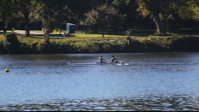 Junior Men's 2X with Seb and Henry.