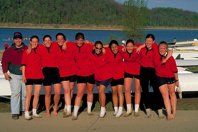 The novice girls eight.