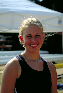 Erin in her development camp uni when she joined us at Henley Regatta in Canada.