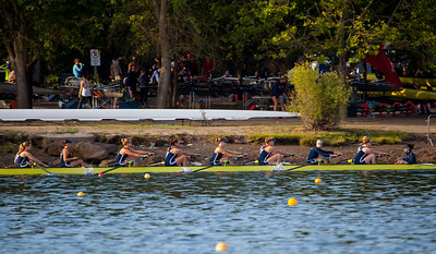 1V warms up towards the start