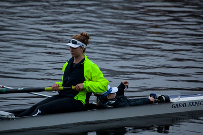 2V4 launching before their race from Weld Boathouse.